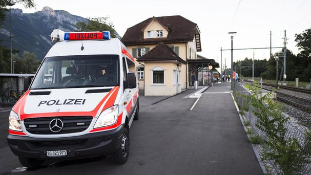 2 dead, 3 in critical condition after attack on Swiss train