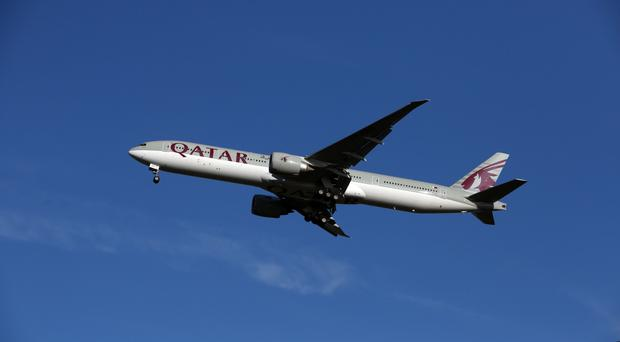 Qatar Airways airplane