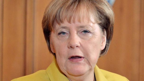 German chancellor Angela Merkel said the government is doing everything humanly possible to ensure security