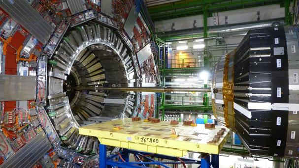The Large Hadron Collider is at the European Organisation for Nuclear Research in Switzerland