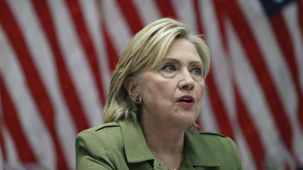 Republicans have pressed to keep the issue of Hillary Clinton's email use alive (AP)