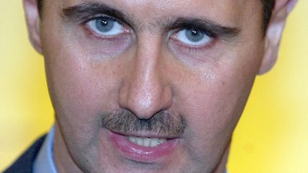 Bashar Assad is president of Syria
