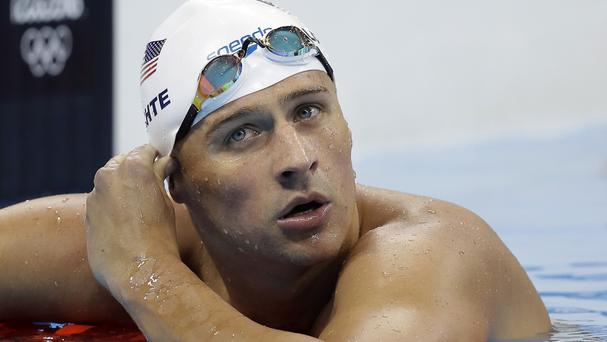 Ryan Lochte has come under fire over his version of events (AP)