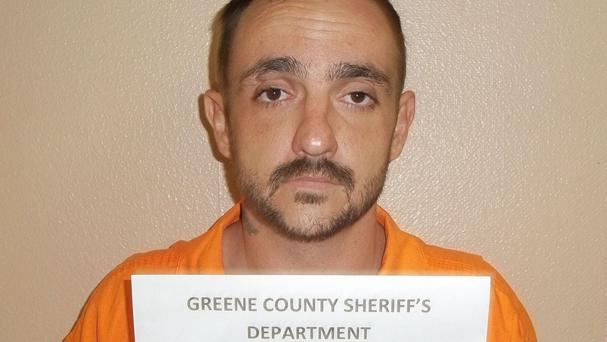 Derrick Dearman will be charged with six counts of capital murder, Mobile County sheriff's spokeswoman Lori Myles said (George County Sheriff's Department via AP)