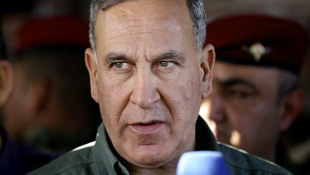Iraqi defence minister Khaled al-Obeidi has received a vote of no confidence (AP)