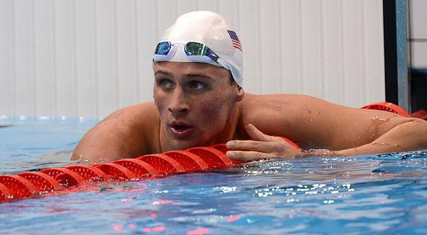 Ryan Lochte later admitted he had lied about the 'robbery'