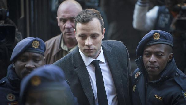 Oscar Pistorius shot Reeva Steenkamp at his home (AP)