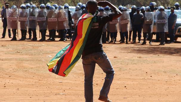 Zimbabwe has been the scene of anti-government protests