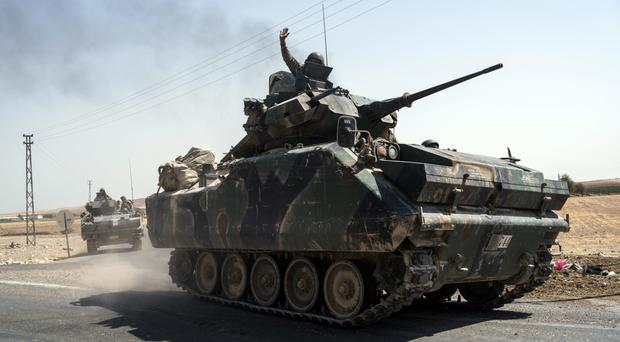 Turkish troops have been engaged in operations in Syria