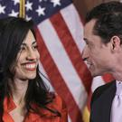 Anthony Weiner and Huma Abedin (AP)