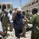 Somali lawmaker Abdalla Bos Ahmed was injured by the blast in Mogadishu (AP)