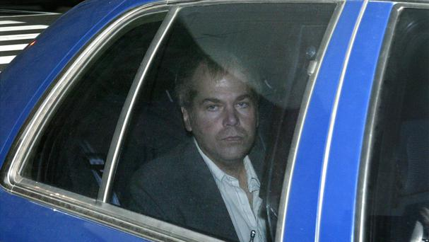 John Hinckley Jr, pictured in 2003 (AP)