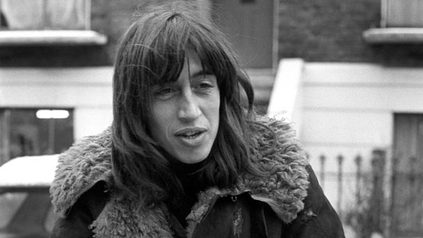 Richard Neville, pictured aged 29, in west London - the 1960s counterculture leader has died in Australia