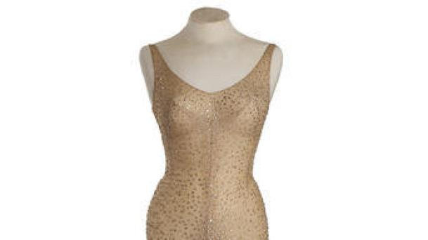 The dress Marilyn Monroe wore during her rendition of