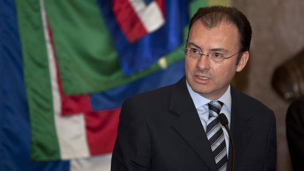 Mexico's Treasury minister Luis Videgaray has resigned after the visit of Republican presidential nominee Donald Trump (AP)
