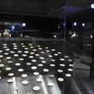 Antique coins are displayed at a newly opened museum in the southern city of Basra (AP)