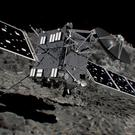Artist's impression of Rosetta spacecraft shortly before hitting Comet 67P/Churyumov�Gerasimenko on September 30, 2016.