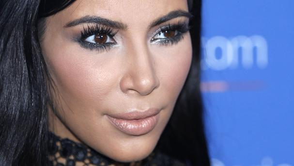 Kim Kardashian was unharmed after her ordeal (AP)