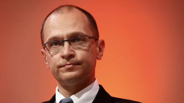 Sergey Kiriyenko replaces Vyacheslav Volodin, who has been named the speaker of the newly elected lower house (AP)
