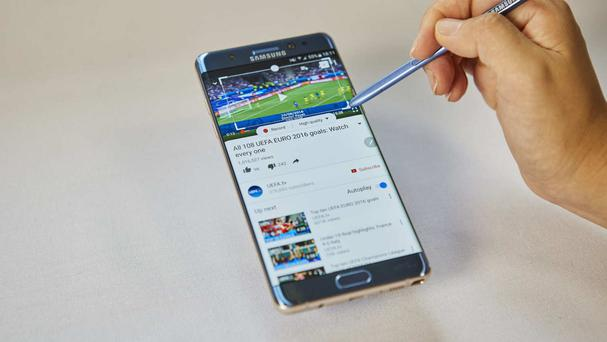 A formal recall of Samsung's Galaxy Note 7 smartphone was announced in the US last month following a spate of reported fires