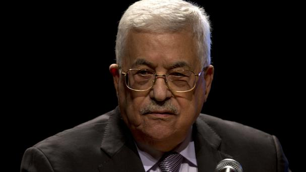 Mahmoud Abbas was taken to hospital after complaining of feeling tired, officials said (AP)