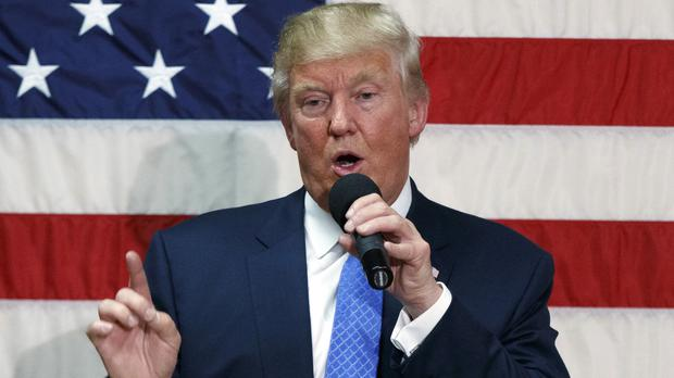 Donald Trump apologised for the comments in a midnight video posting (AP)