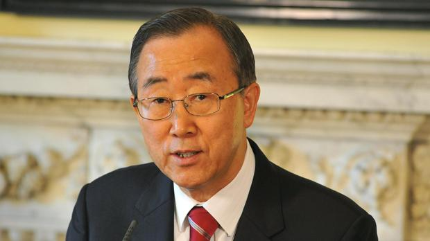 UN chief urges war crimes probe over Syria bloodshed