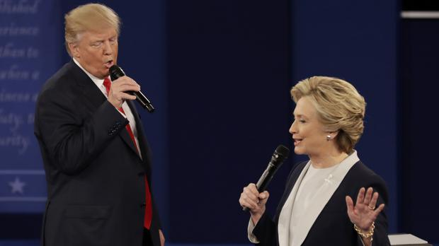 Donald Trump and Hillary Clinton are fighting hard for votes (AP)
