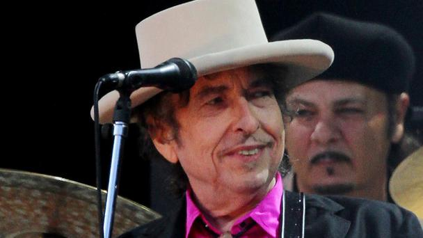 Bob Dylan is on tour in the US