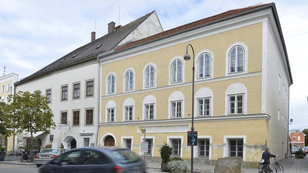 Adolf Hitler was born in the house in Braunau, Austria (AP)