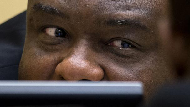 Former Congolese vice president Jean-Pierre Bemba was sentenced to 18 years' imprisonment earlier this year (AP)