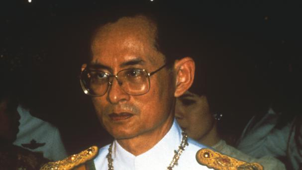 King Bhumibol reigned for 70 years