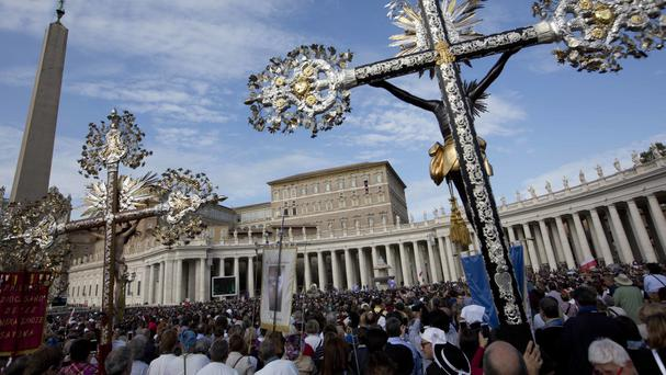 The Vatican first approved cremation in the 1960s (AP)