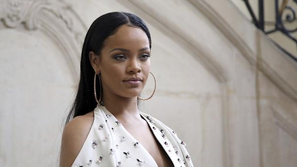 Rihanna posted an emotional plea online for information leading to the whereabouts of Shirlene Quigley, who was later found safe (AP)