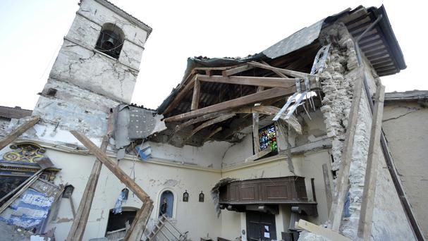 Italy Hit By Two Strong Earthquakes