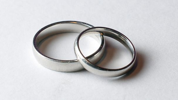 'Marriages are like fingerprints: each one is different. Nobody knows what goes on in anyone else's marriage. Nobody has all the answers' (stock photo)