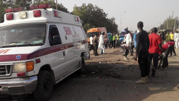 The most recent explosion follows four suicide bombings in three weeks in Maiduguri (AP)
