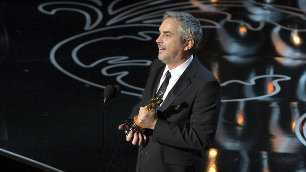 Gravity director Alfonso Cuaron (Invision/AP)