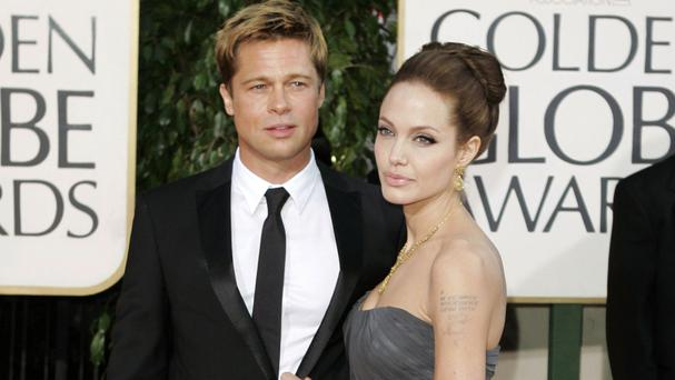 Brad Pitt and Angelina Jolie are divorcing (AP)