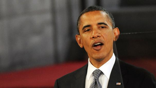 US President Barack Obama is rallying voters to back Hillary Clinton