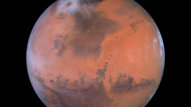 The project aims to put protocols in place which would assist an actual Nasa mission to the Red Planet (PA/Nasa)
