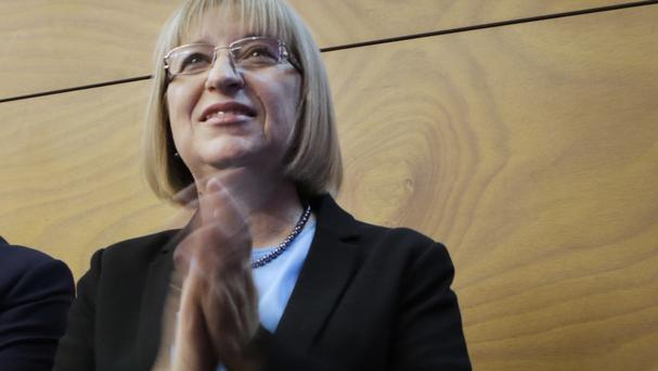Tsetska Tsacheva is the front-runner in the presidential election