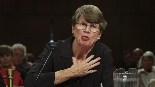 Janet Reno has died aged 78. (AP)