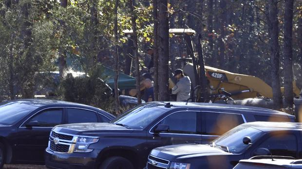 Excavation and search work continues on Todd Kohlhepp's property in Woodruff, South Carolina (AP)