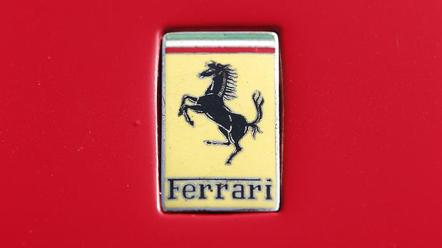 Ferrari fell the most in almost ten months after climbing 70pc this year before Friday's setback (stock photo)