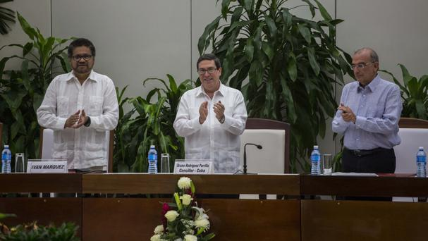 Colombia's government signed a new peace deal with the Farc (AP)