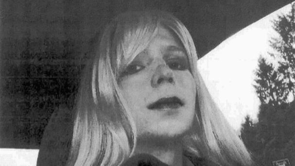 Chelsea Manning said there was no historical precedent for such an extreme sentence for the leak of secret documents (US Army via AP)