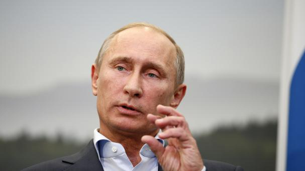 Russian President Vladimir Putin Picture: PA