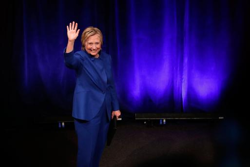 Former Secretary of State Hillary Clinton delivers remarks while being honored during the Children's Defense Fund's Beat the Odds Celebration at the Newseum in Washington. Photo: Getty Images