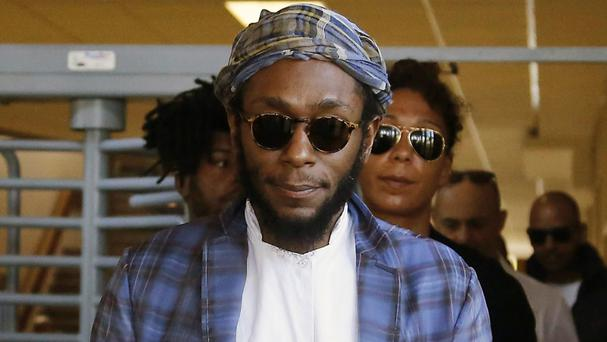 Yasiin Bey, also known as Mos Def, in South Africa (AP)